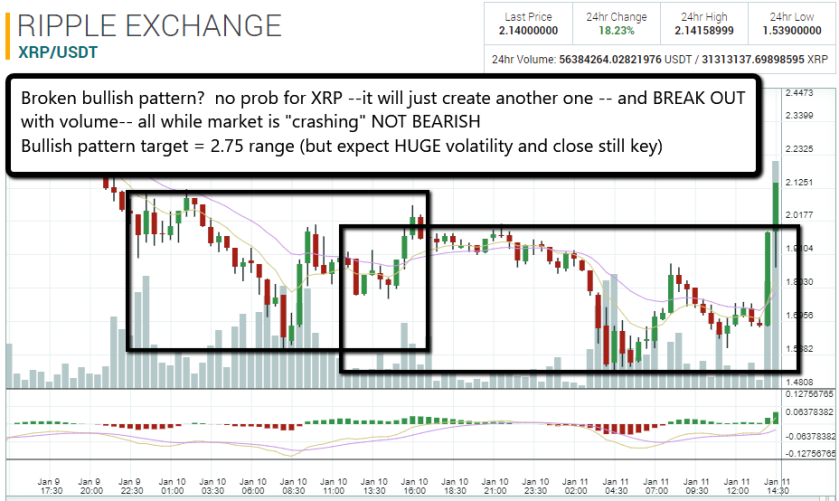 XRP early 1 11